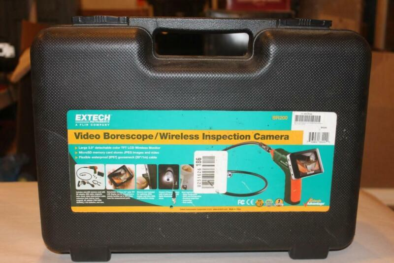 Extech BR200 Video Borescope Wireless Inspection Camera NEW