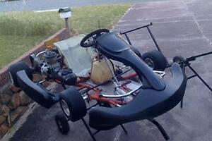 GO KART - 125 Senior Racing/Competitive, negotiable price East Perth Perth City Area Preview