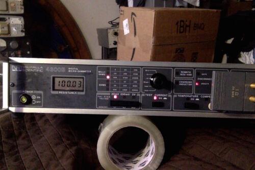 Valhalla 4300B Micro-ohmmeter