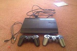 Playstation super slim 500 GB, Comes with 2 PS3 controllers Kingsley Joondalup Area Preview