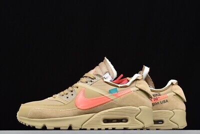Off-White x Nike - The Ten: Air Max 90 Desert Ore Liquidation of shop Best