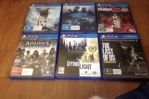 Sony Playstation 4 + 4 games Quakers Hill Blacktown Area Preview