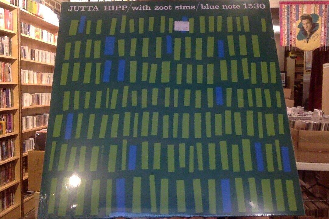 Jutta Hipp with Zoot Sims LP sealed vinyl reissue Blue Note 1530