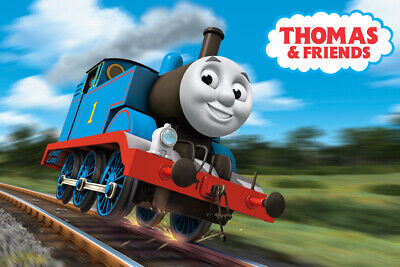 Thomas the Train Movie Toy Art Wall Indoor Room Outdoor Poster - POSTER 24x36 Thomas The Train Room