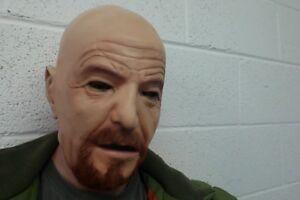 Breaking Bad Walter White Mask Latex Heisenberg Halloween Fancy Dress Costume