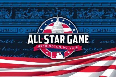 2018 Mlb All Star Game Official Program