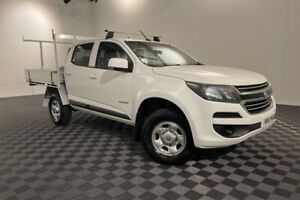 2016 Holden Colorado RG MY17 LS Crew Cab 4x2 White 6 Speed Sports Automatic Cab Chassis