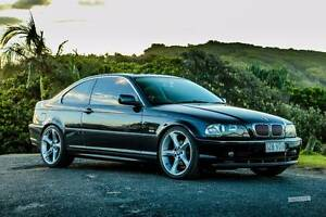 """2001 BMW 3 Coupe 320CI black 19"""" rims 8 airbags Gold Coast Bundall Gold Coast City Preview"""