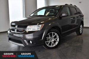 DODGE JOURNEY GT + AWD + 7 PASSAGERS + DVD + TOIT OUVRANT + CUIR