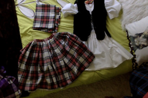 Highland Dance Aboyne Outfit (for 7/8 year old)