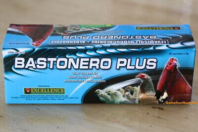 Bastonero Plus Full Box 48 Packs - Poultry Dewormer - Excellence
