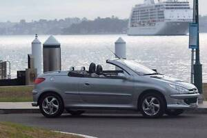 2005 Peugeot 206 Convertible North Sydney North Sydney Area Preview
