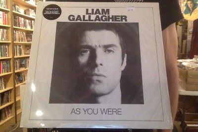 Liam Gallagher As you Were LP sealed vinyl Oasis