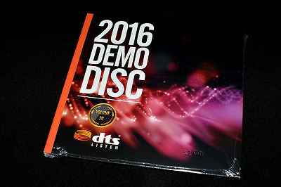 New  Dts X  Hd Ma Master Audio 7 1 Demo  20 Genuine Blu Ray Disc Ces 2016 Sealed