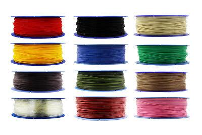3D Drucker 1kg Filament Rolle PLA 1,75mm Schwarz Transparent Gelb Rot