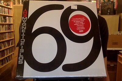 Magnetic Fields 69 Love Songs 6X10  Box Set Sealed Vinyl   Download   Book