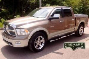 2010 Dodge RAM 1500 LARAMIE RAM BOX CrewCab 4X4 Bluetooth, siege