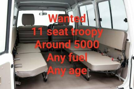 Wanted - Landcruiser Troopy North Albury Albury Area Preview