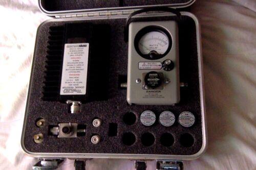Bird 4410A wattmeter set, 2 - 1000MHz