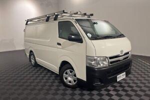 2010 Toyota HiAce KDH201R MY10 LWB French Vanilla 5 Speed Manual Van
