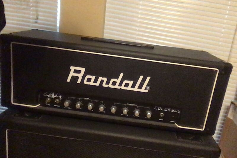 KISS Paul Stanley-Randall Amplifier