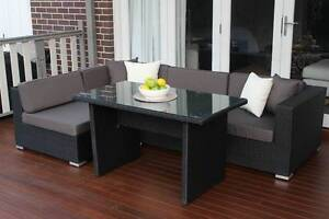 WICKER LOUNGE DINER SETTING,5 CONFIGURATIONS,EUROPEAN STYLED Modbury Tea Tree Gully Area Preview