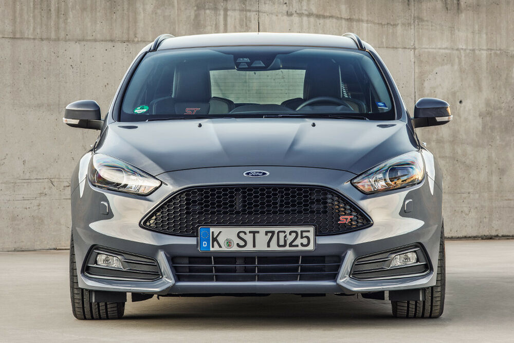 Ford Focus ST: Frontansicht