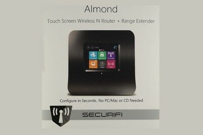 Almond SECURIFI Touch Screen Wireless N Router + Range Extender 300Mbit/s GUT #1 ()
