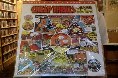 Big Brother   The Holding Company Cheap Thrills 2Xlp New 180 Gm Vinyl Mfsl 45Rpm