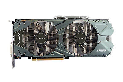 GALAX GeForce GTX 970 EXOC Video Card PCI-E 4GB 256-Bit GDDR5  - Black