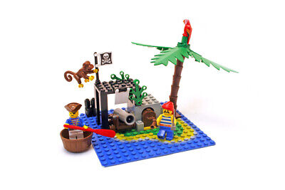 Lego Pirates I Set 6260 Shipwreck Island 100% complete rare vintage 1989