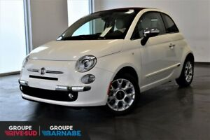FIAT 500C CONVERTIBLE LOUNGE | 1000 KM+CUIR+BEATS AUDIO