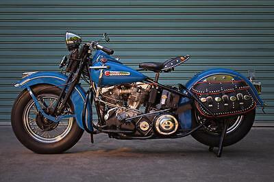 1968 HARLEY DAVIDSON M-65 VINTAGE MOTORCYCLE MOPED POSTER PRINT 24x36 9MIL