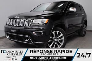 2018 Jeep Grand Cherokee Overland + BANCS CHAUFF + CAM RECUL + N