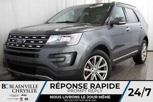 2016 Ford Explorer LIMITED + 4WD + V6 3.5L + MAGS + CUIR + BLUET