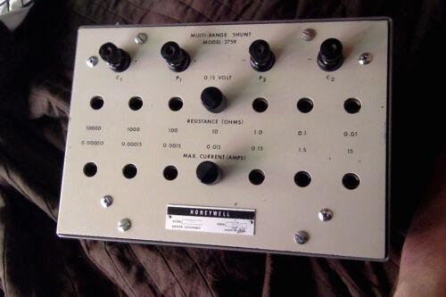 Honeywell 2759 Multi-range standard resistor ( Leeds Northrup Guildline )