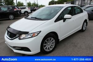 Honda Civic 2014 LX **WOW** FINANCEMENT FACILE !!