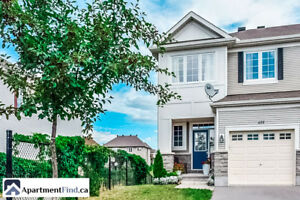 Luxury Townhouse for rent in Kanata - February 1st