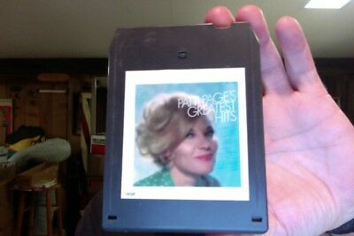Patti Page- Greatest Hits- used 8 Track tape- very nice- rare?