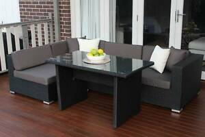 WICKER LOUNGE DINING SETTING ,EUROPEAN STYLING,B/NEW Nerang Gold Coast West Preview