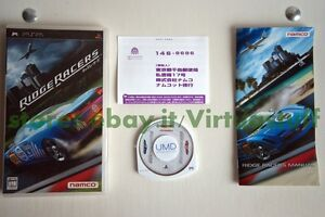 Ridge-Racers-Namco-Sony-PSP-JAP-PSX-PS2-ottimo-stato-very-good-condition