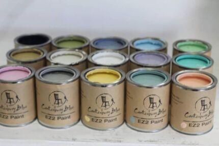 Chalk furniture paint by Canterbury Blue  Mosman Mosman Area Preview