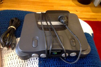 Nintendo 64 + 4 Controllers + 10 Games Butler Wanneroo Area Preview