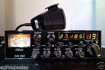 Galaxy DX959 Cb Radio - Performance Tuned + Echo Board