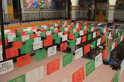 Papel Picado - Mexican Party Banners - VIVA MEXICO Mexican Independence Day