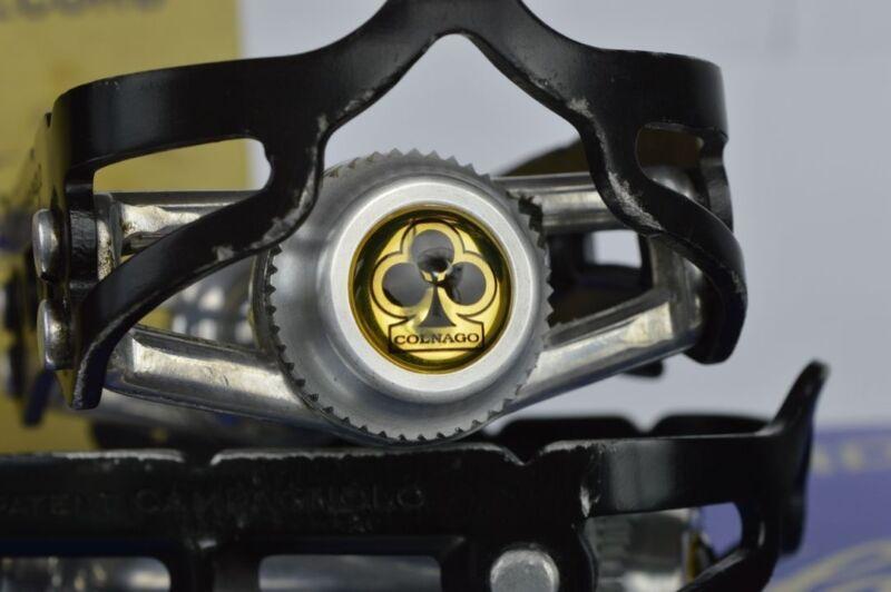 Colnago pedals dust caps fit shimano campagnolo super record gipiemme vintage