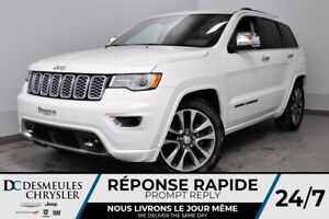 2018 Jeep Grand Cherokee Overland +NAV+CAM RECUL+ A/C MULTI +BAN