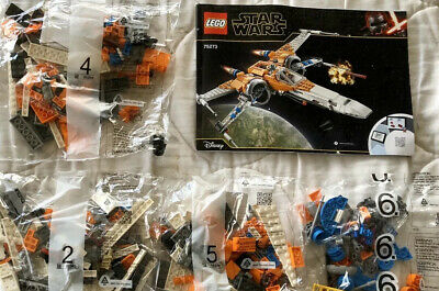 NEW! LEGO Star Wars Poe Dameron's X-wing Fighter (75273) Knight Ren NO BOX