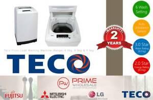 Brand New! Teco Top Load Washing Machine (Range) 6kg, 8kg, 9.5kg Thornton Maitland Area Preview