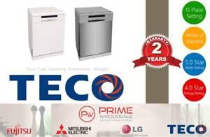 New! Teco Dishwasher TDW15WCGA (White) / TDW15SCGA (Stainless) Thornton Maitland Area Preview